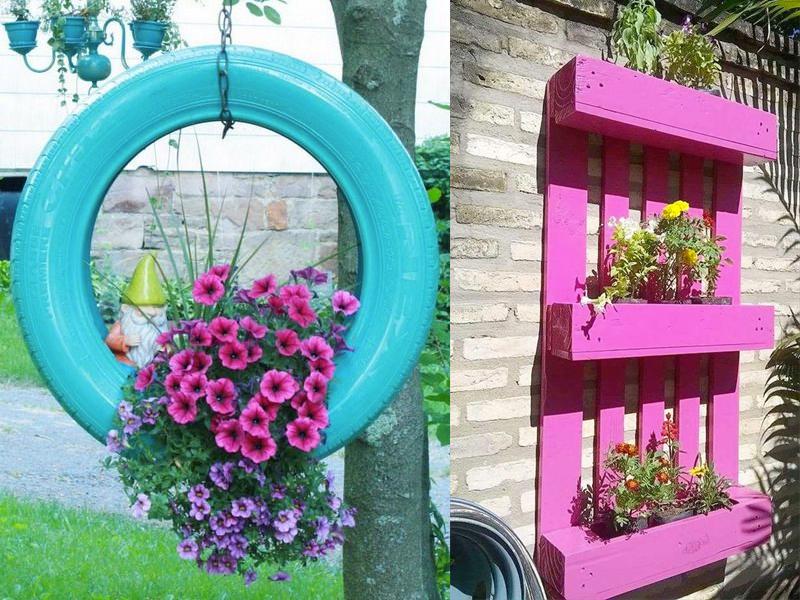 manualidades para adultos para decorar el jardin