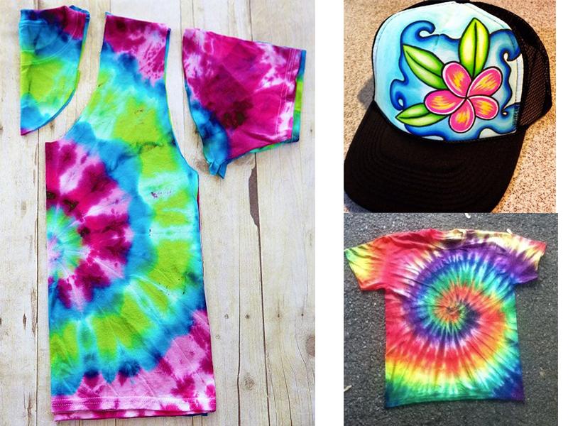 manualidades para niños teñir camisetas