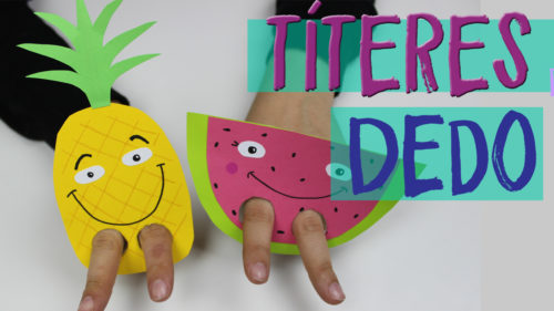 ¡¡Marionetas de dedo! ¡Manualidades rápidas para niños!