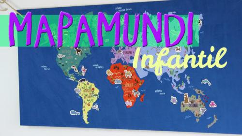 ¿Cómo hacer un mapamundi infantil?