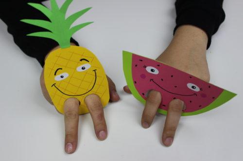 Marionetas De Dedo Manualidades Rapidas Para Ninos Top - Manualidades-con-frutas-para-nios