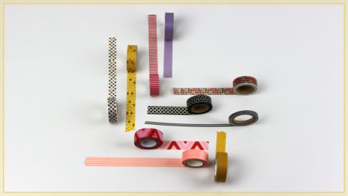 Ideas Washi Tape