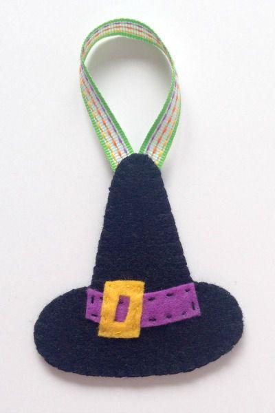 Sombrero de bruja de halloween