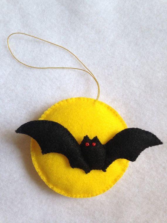 Murciélagos de Halloween manualidades