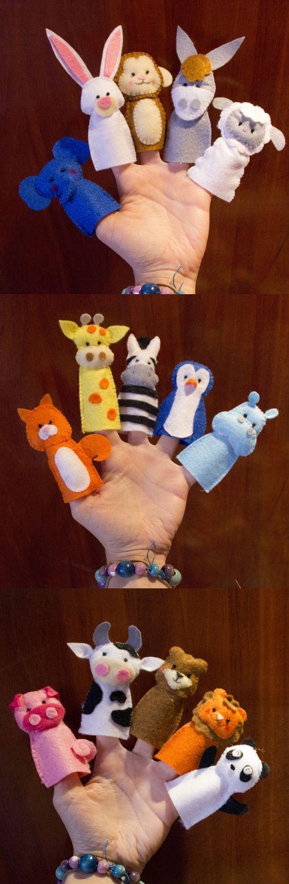 Titeres de dedo para bebés