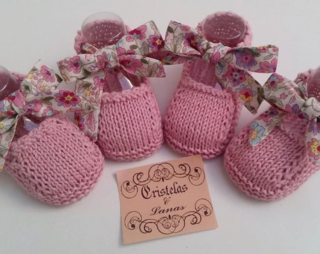 Zapatitos bonitos de crochet