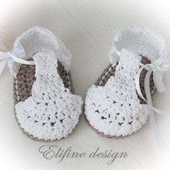 zapatitos de crochet