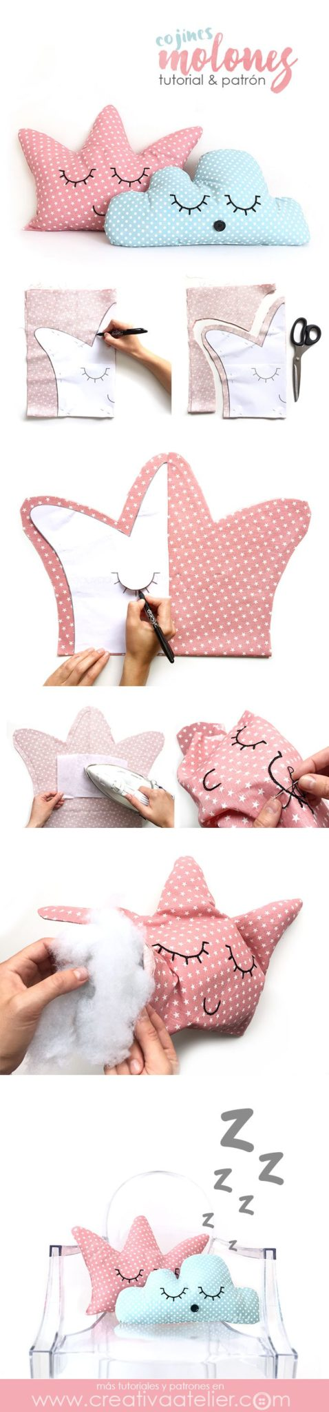 ▷ ✅18 ideas sencillas de manualidades para bebes en tela 【TOP ...