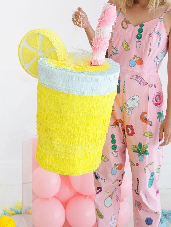 Lemonade Pinata | Oh Happy Day!:
