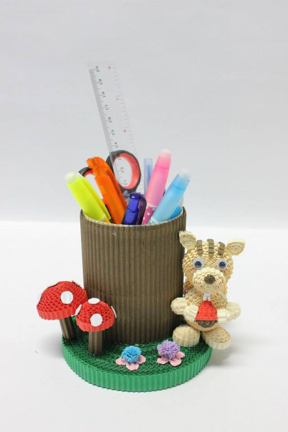 Stationery holder: