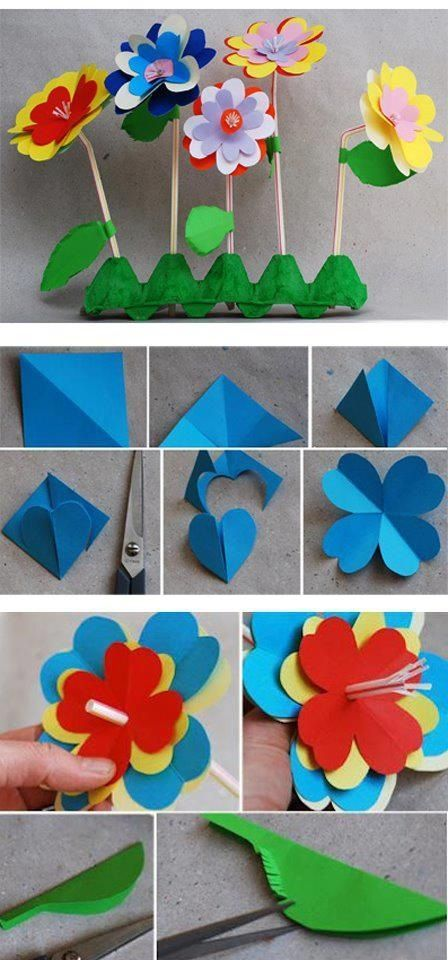 Flors de paper i cartró: