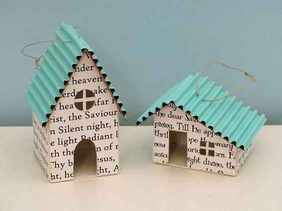 ornaments, ..uhmm!... casitas para un pesebre...: