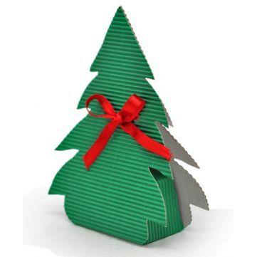Cajita de regalo Árbol Navidad, preciosa esta cajita con la que sin duda tus regalitos de navidad serán todo un éxito. Disponible en Gran Velada. #diy: