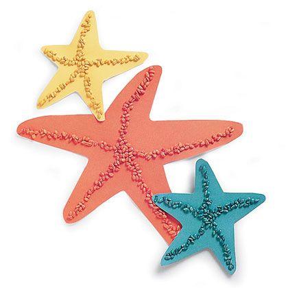 Como hacer estrellas de mar en papel: