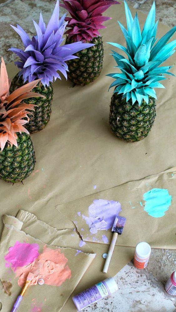 Decora tu fiesta temática luau con esta bonita idea. #party #hawaiana #luau: