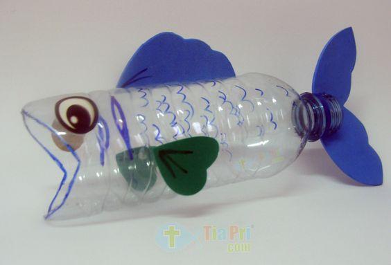 6 manualidades infantiles ¡bajo el mar!: