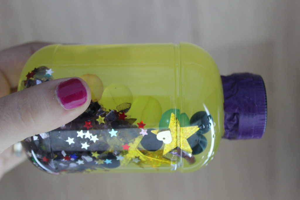 botellas sensoriales sencillas