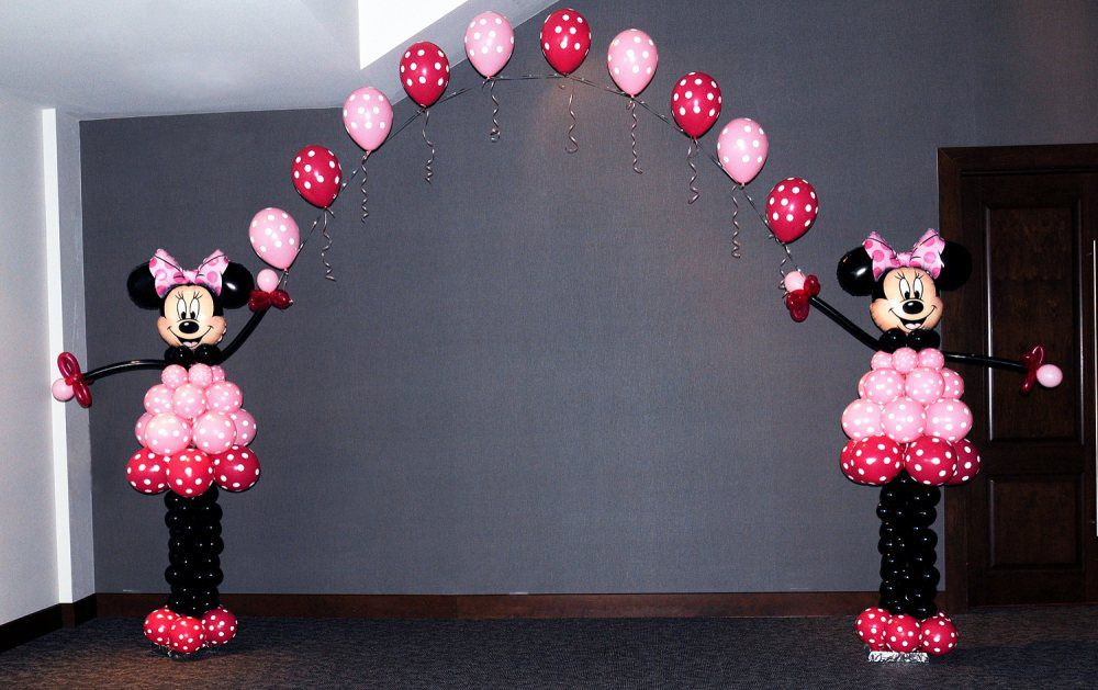 como decorar una fiesta de minnie