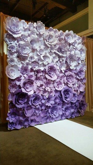 como hacer flores de papel para decorar