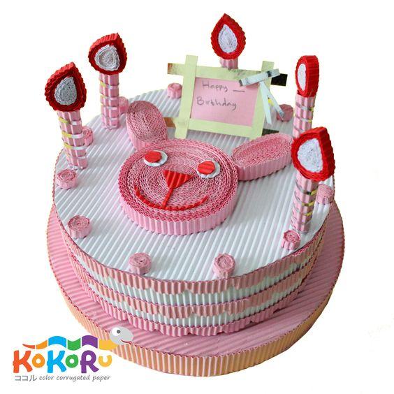 Birthday cake #kokoru: