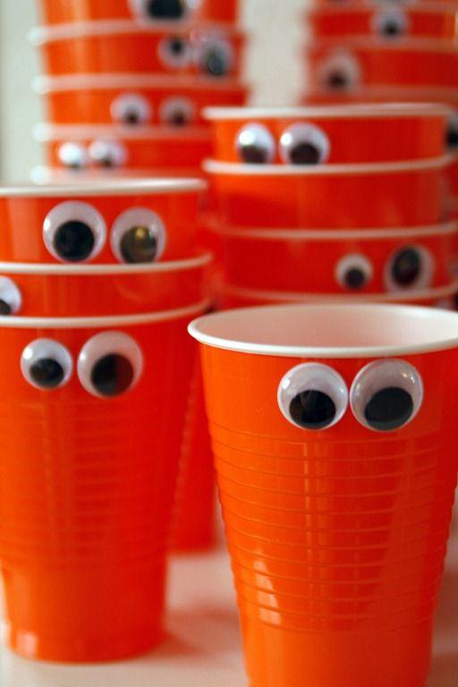decoracion de fiestas recicladas infantiles