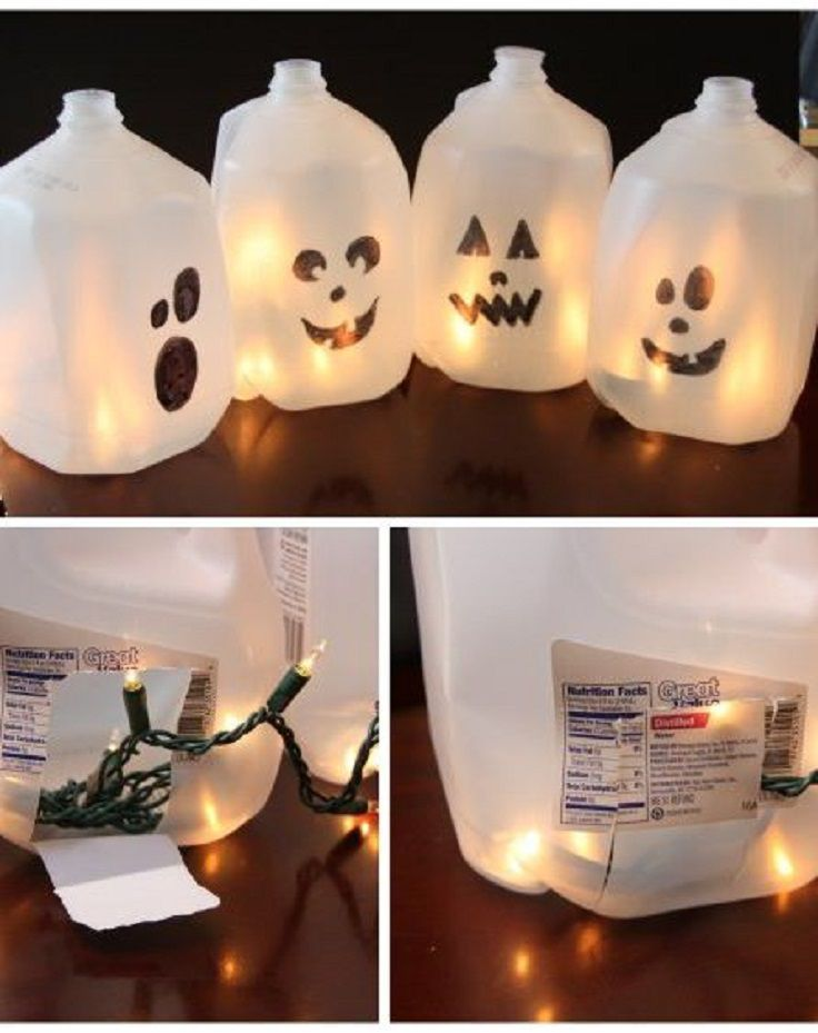 decoracion de halloween reciclada facil