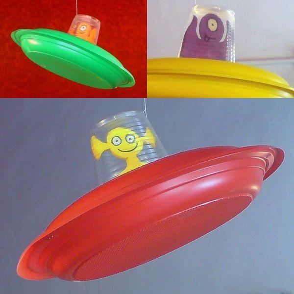 decoracion fiestas recicladas de marcianos