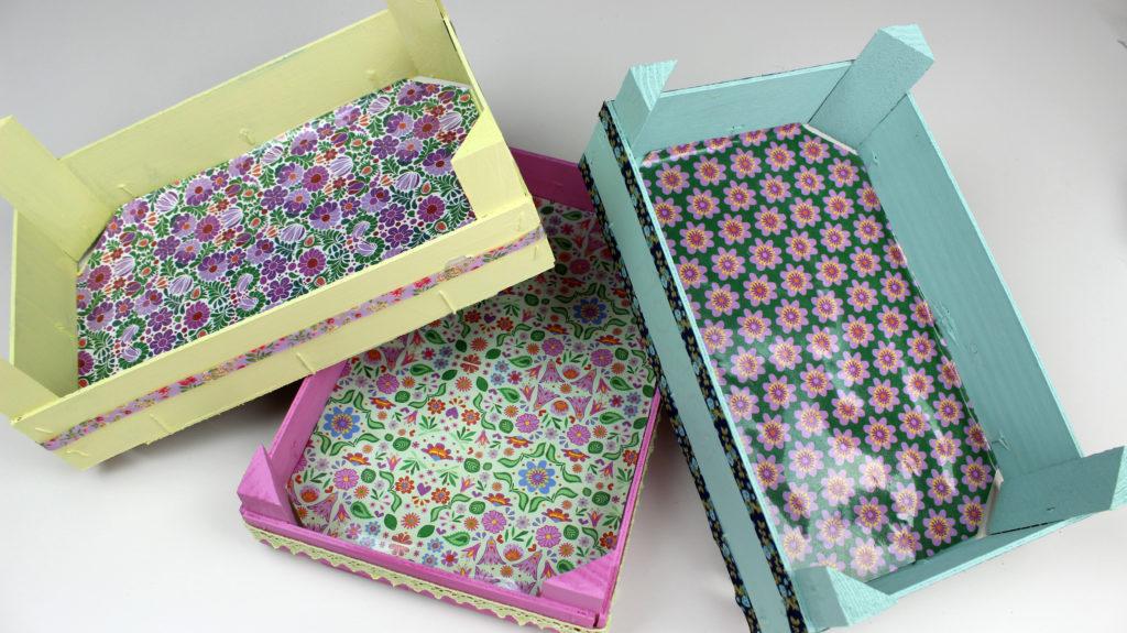 decorar cajas de frutas