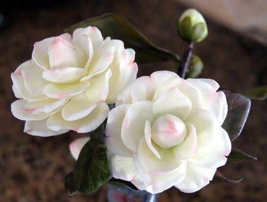 flor de papel de arroz