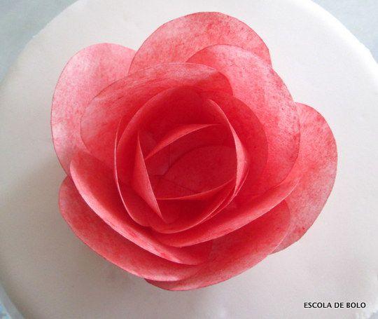 28 Tutoriales Sencillos De Flores De Papel Arroz Top