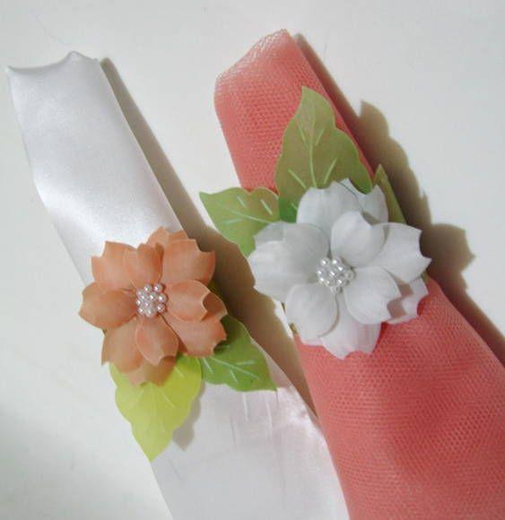 flores de papel vegetal paso a paso