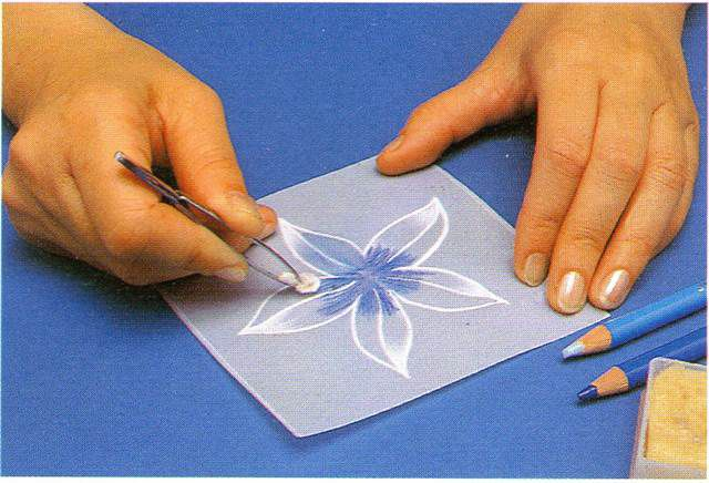 flores para papel vegetal faciles