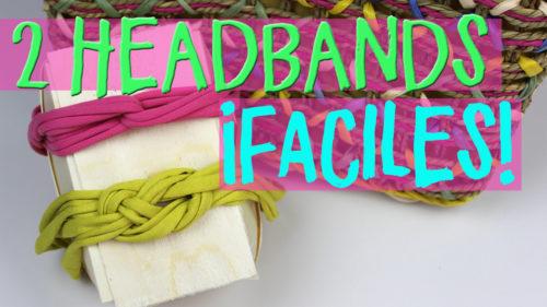 ¿Cómo hacer headbands de verano?