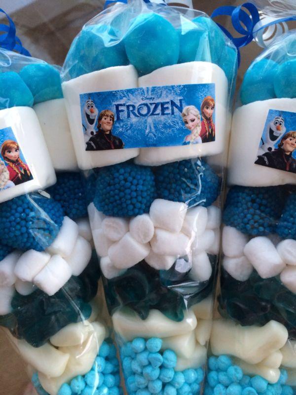 manualidades de fiestas de niños de frozen