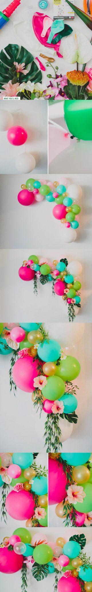manualidades para decorar fiestas de cumple paso a paso