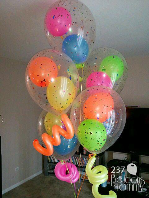manualidades para decorar fiestas de cumpleaños con globos