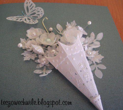moldes de flores en papel vegetal