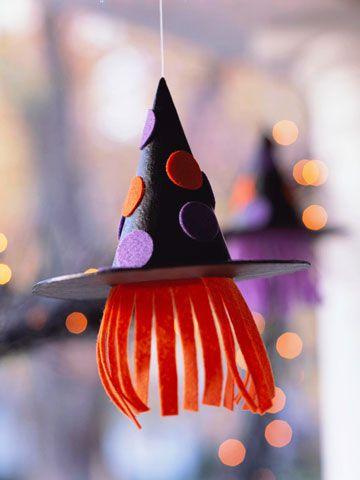 reciclaje de halloween para decorar para niños