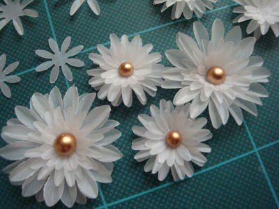 tutorial de flores de papel vegetal manualidades