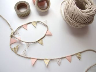Ideas con Washi tape para Celebraciones