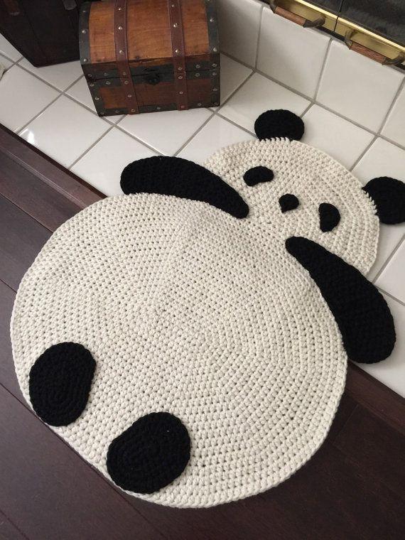 alfombras de ganchillo de osos
