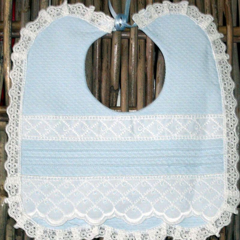 baberos de bebe tejidos a crochet