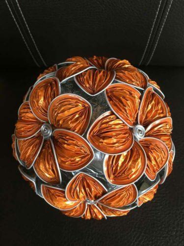 bolas de navidad nespresso de flores