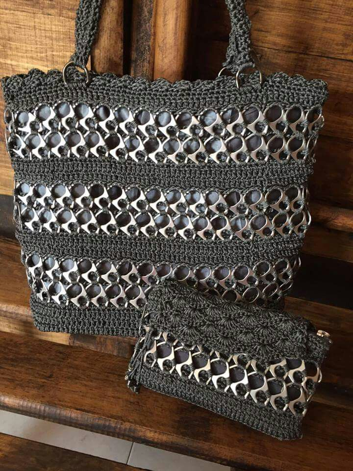 bolsos de crochet hechos a mano