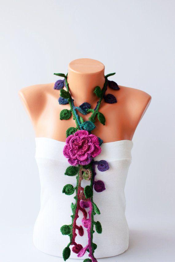 bufanda de ganchillo facil