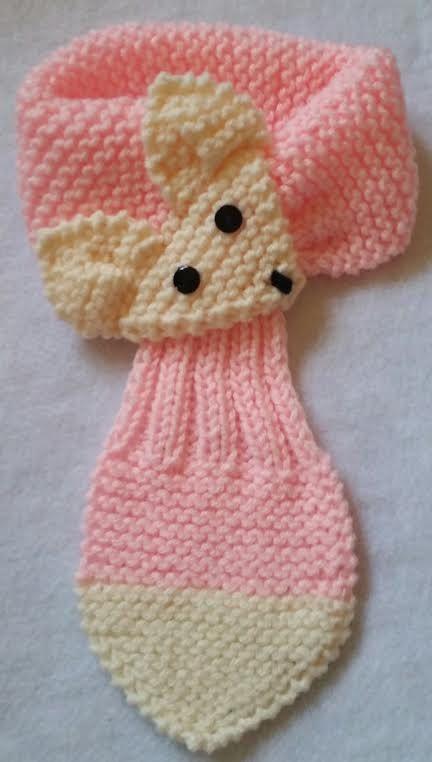 bufanda de ganchillo para niñas