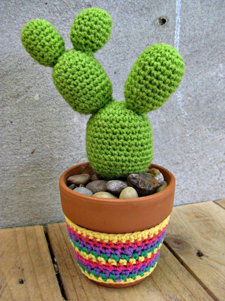 cactus crochet como hacer