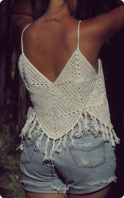 chalecos de crochet para verano