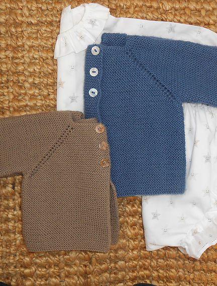 chaquetas de crochet de colores