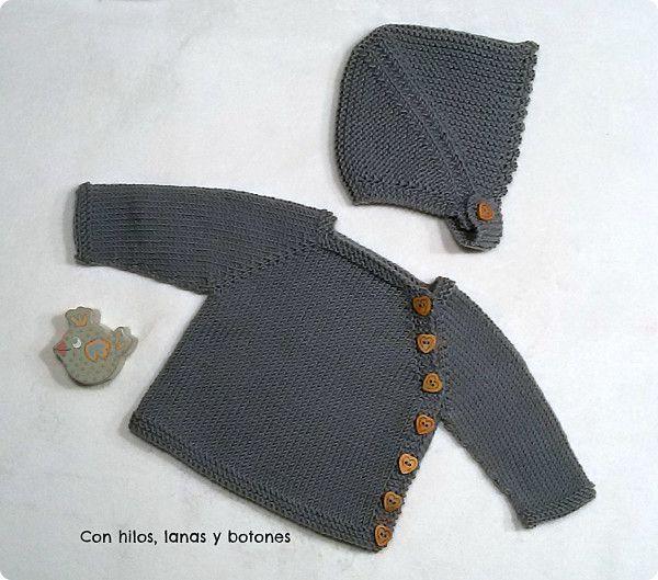 chaquetas de crochet para bebes